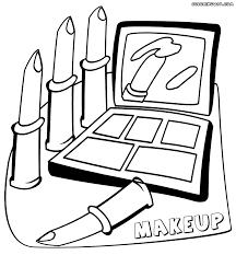 makeup coloring pages to print mugeek vidalondon