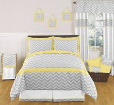 terrific decorating ideas with vessel sinks for bathrooms entrancing image chevron bedroom decoration using yellow grey zigzag bed sheet including