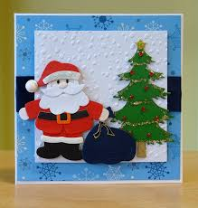 102 best cards santa images on cards