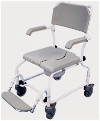 Shower Chair On Wheels Shower Commode Chairs