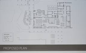 floor plan of cafeteria campus improvements ndnu
