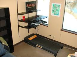Diy Treadmill Desk Desk Treadmill Desk Ikea Intended For Home Office Diy Inside