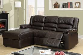 Sectional Leather Sofas With Recliners by Best Collections Of Small Reclining Sectional All Can Download