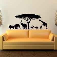28 wild animal wall stickers safari wild animals wall decal wild animal wall stickers