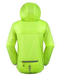 cycling rain jacket with hood amazon com santic cycling raincoat mens waterproof running