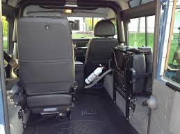 new land rover defender interior rear exmoor lock u0026 fold seats new style11 xs black http www