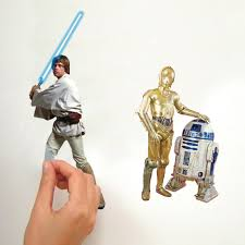 amazon com roommates rmk1586scs star wars classic peel and stick view larger