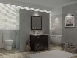 Houzz Bathrooms Vanities by Ace Cambridge 37 Inch Single Sink Bathroom Vanity Set Right