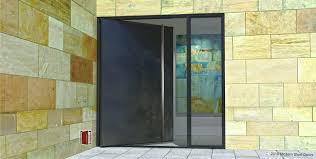 Custom Size Steel Exterior Doors Front Doors Modern Steel Front Entry Door Metal Front Door With