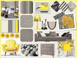 color palette gray grey yellow u003d the perfect combination anita brown 3d visualisation