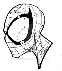 spiderman head drawing 1 best images collections hd for gadget