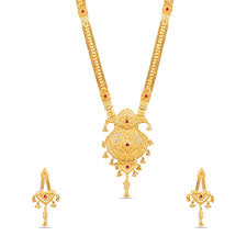 necklace set gold plated necklace set gshs384 maalyaa