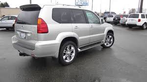 lexus gx seattle 2004 lexus gx470 silver pine metallic stock 12989bl walk