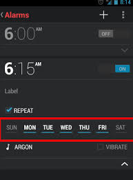 how to set alarm on android nexus 5 set an alarm for tomorrow android enthusiasts stack
