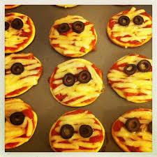 mummy pizzas u0026 zombie finger cookies fatty bloom
