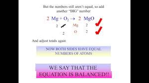 how to balance chemical equations step by step review youtube