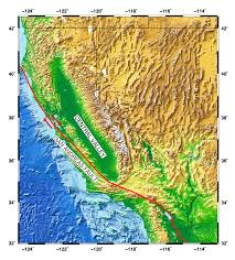 California Fault Map Groundwater And Earthquake Faults Demonstration Education Unavco