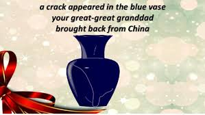 The Blue Vase Dear Mum
