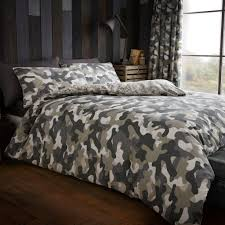 Camouflage Sheet Set Gaveno Cavailia Bedding Next Day Select Day Delivery