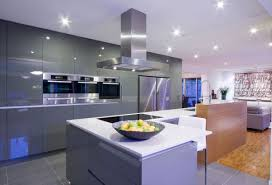 led lights for the kitchen kitchen antique wooden chairs island chandelier recessed