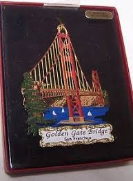 golden gate bridge ornament for formynew2017sfhome