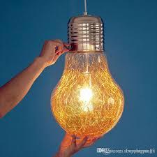 discount stylish big bulb modle pendant l new modern dining