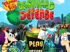 Phineas And Ferb Backyard Beach Game Phineas And Ferb Games Cute Games Online