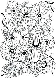 printable coloring pages adults printable coloring pages of flowers flower coloring pages printable