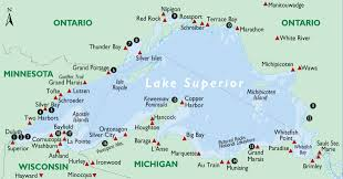Porcupine Mountains State Park Map by 18 Lake Superior Overlooks You Should Visit Lake Superior Magazine