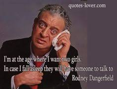 Rodney Dangerfield Memes - rodney dangerfield my psychiatrist told me i was crazy and i