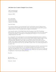 thank you letter examples interview cover letter for an interview 81 images interview cover