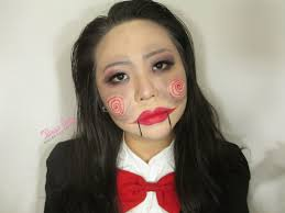 halloween makeup tutorial billy the puppet made easy video