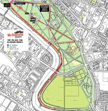 Map Running Route by Glasgow 5k U0026 10k Mo Running Event 2017 Run For The Movember