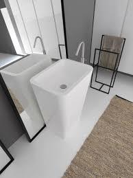 Agape Bathroom Fixtures by Free Standing Washbasin In Tecnoril From Modulnova Bagni
