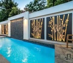 contemporary garden wall art contemporary mirror wall art peugen