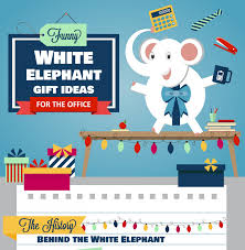 white elephant gift ideas for the office visual ly
