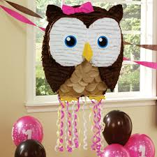 owl pink pull string pinata owl birthdays and owl parties
