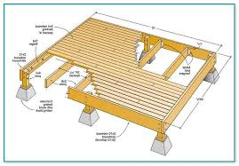 deck plans 12 x 12 deck plans