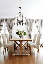 amazing french country dining room painted chairs ideas white charming french country dining room sets formal furniture light grey curtains white wall white stripes fabric
