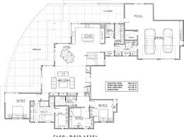 luxury contemporary 9044 3 bedrooms and 3 baths the house 1st floor plan