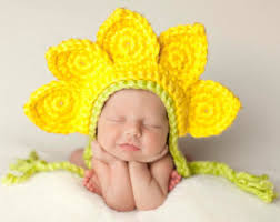 Sunflower Halloween Costume Crochet Flowers Etsy