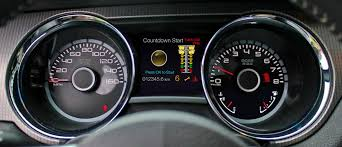 mustang custom gauges how to install a 2013 mustang track apps instrument cluster in a