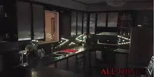 all things led kitchen backsplash led backsplash turns your kitchen into a nightclub video home
