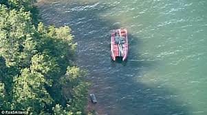 bodies of two women recovered after charity boat crash on lake
