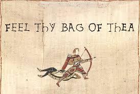 Tea Bag Meme - image 43920 medieval macros bayeux tapestry parodies know