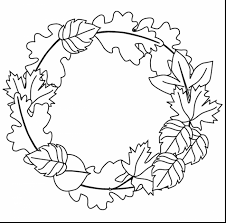 awesome fall leaf coloring page printables with fall color pages