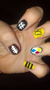 14 best pittsburgh pride nails images on pinterest