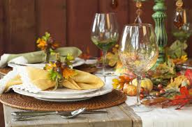 thanksgiving place setting 3 easy steps to setting a thanksgiving table