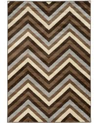 Grey Chevron Area Rug Get The Deal 25 Roma Chevron Area Rug Chocolate Beige 5