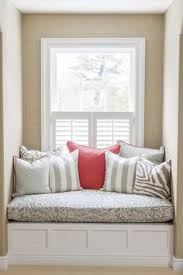 Window Bench Seat With Storage Window Seat And Built Ins Reveal Befores Middles And Afters